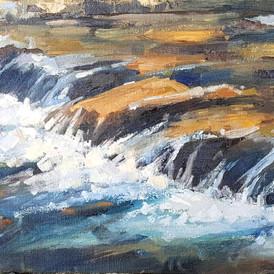 """""""West Creek, Glen Haven, September"""