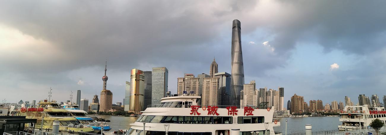 Shanghai, le bund