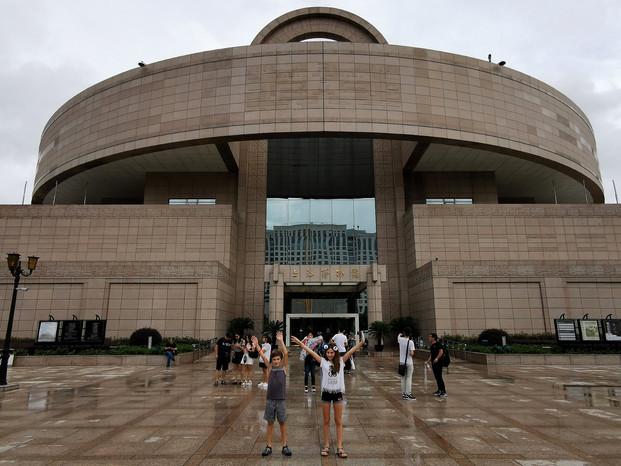 Le musée de Shanghai, musée d'art chinois ancien situé à Puxi sur la place du Peuple
