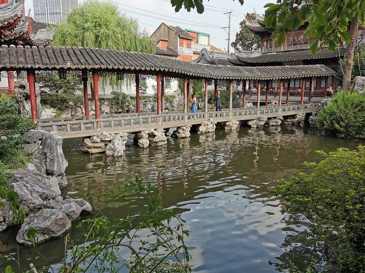 Jardin Yu (XVIe siècle) au centre de Shanghai