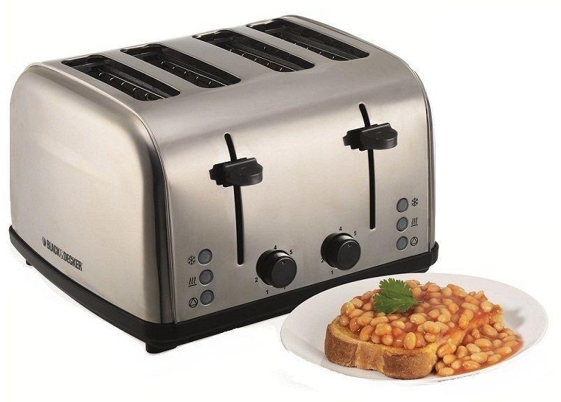 آلة تحميص الخبز - بلاك أند ديكر - ET304-B5