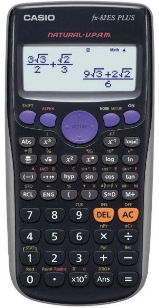 آلة حاسبة علمية - كاسيو - FX-82ES PLUS