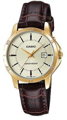 ساعة - كاسيو - LTP-V004GL-9A