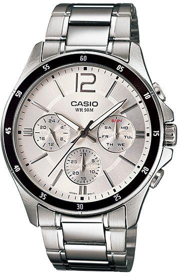 ساعة - كاسيو -MTP-1374D-7AV