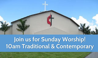 Join us for Sunday Worship - one 10am se