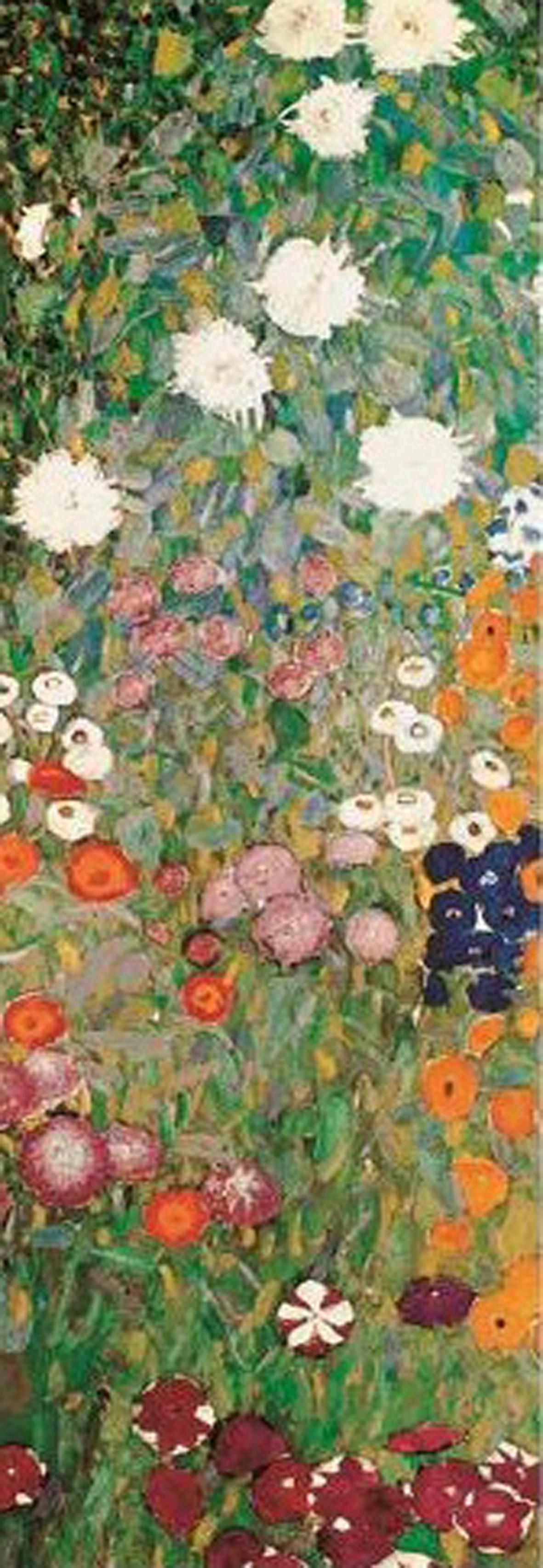 3002N00019 - Klimt, Gustav- Flower garde