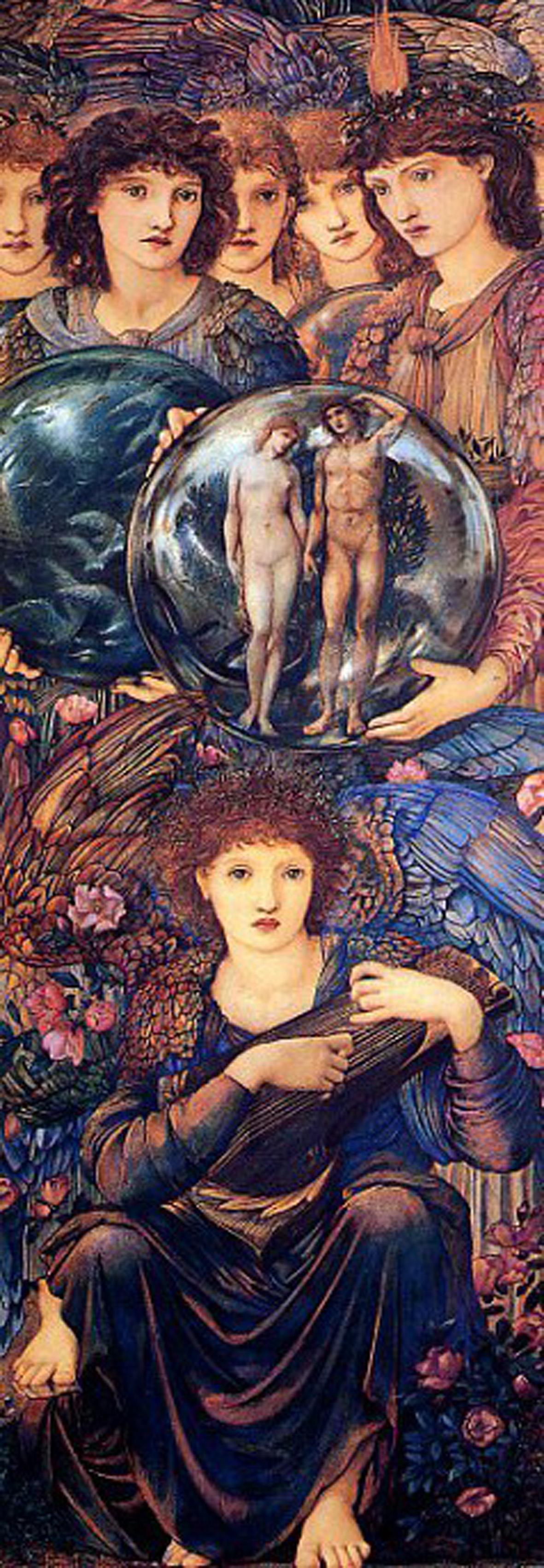 3002N00013 - Burne-Jones, Edward -Angels