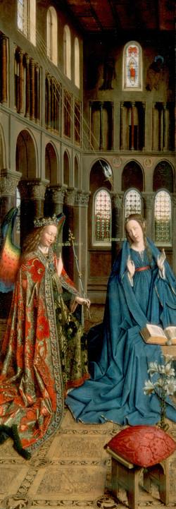 3002N00023 - Van Eyck, Jan -The Annuncia