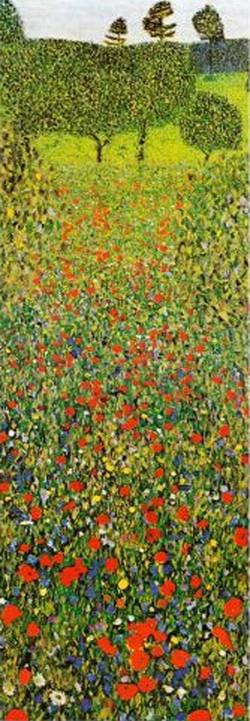 3002N00017 - Klimt, Gustav - Poppies fie