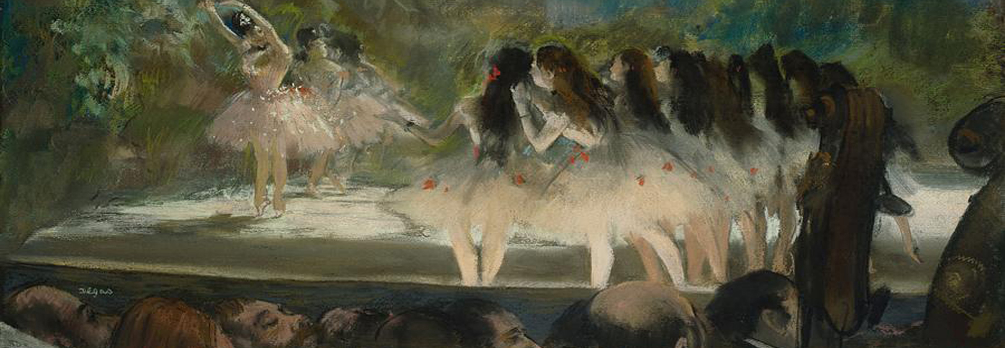 3002N00015 - Degas, Edgar -Ballet at the