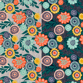 Digital design - different background colour