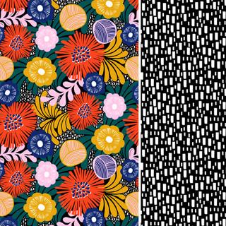 Digital design and sister print