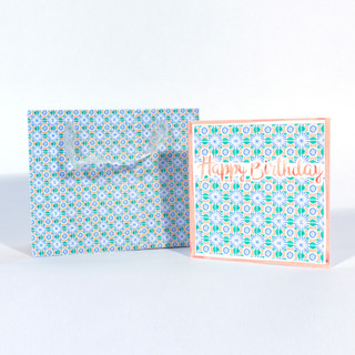 Gift bag and card