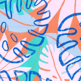 Screen printed design