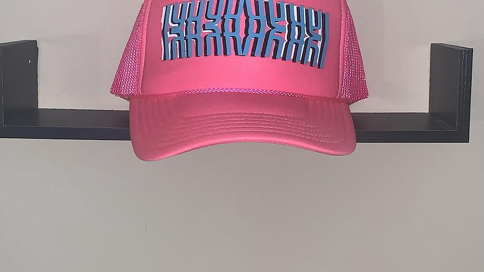 Hot Pink IYKYK trucker