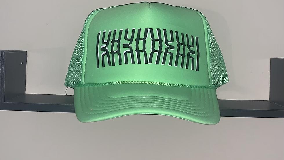Lime Green IYKYK trucker