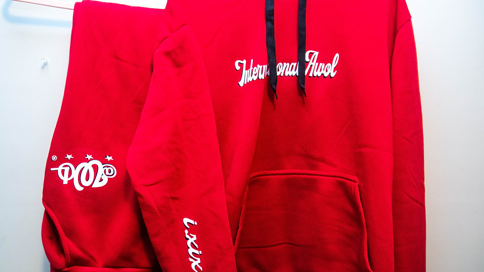 The Red AWoL Sweatsuit