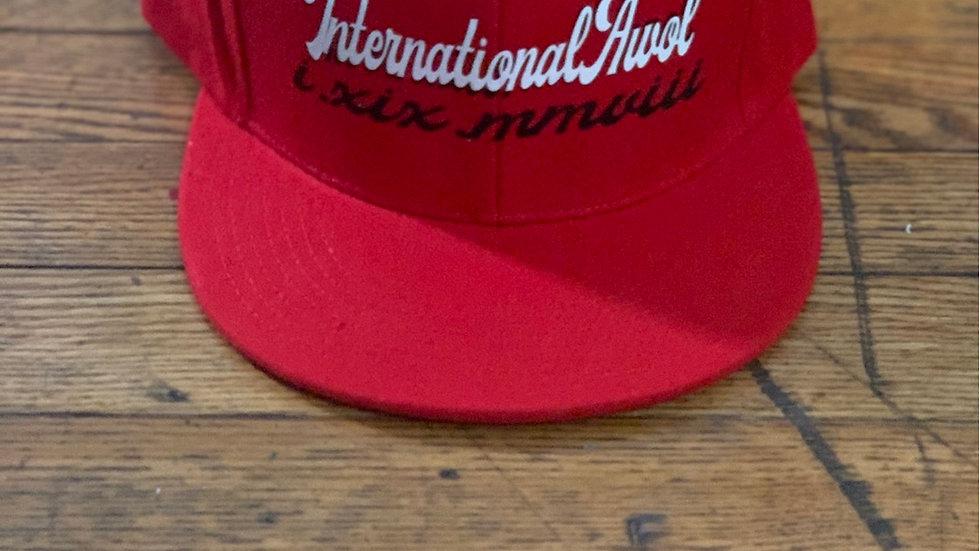 Red International AWoL snapback