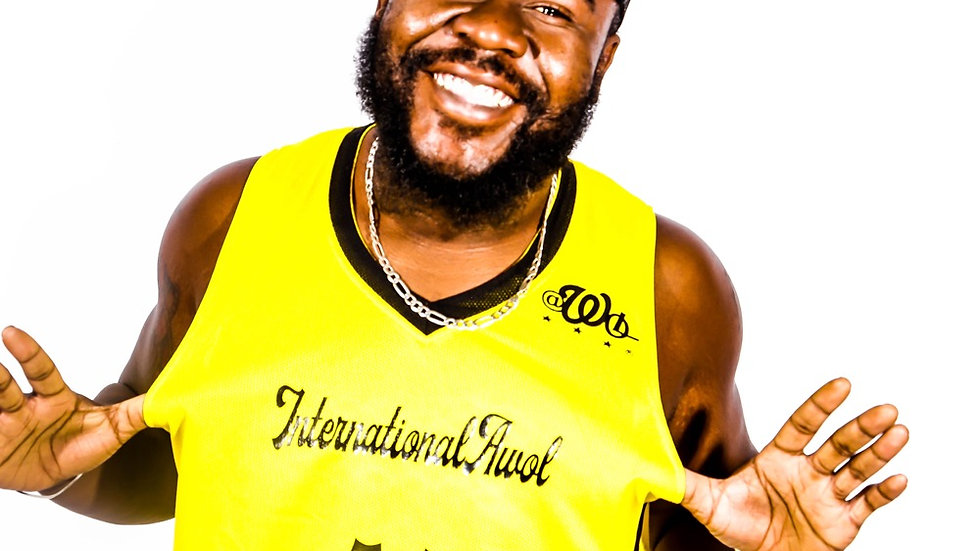 Black & Yellow International AWoL Reversible Jersey