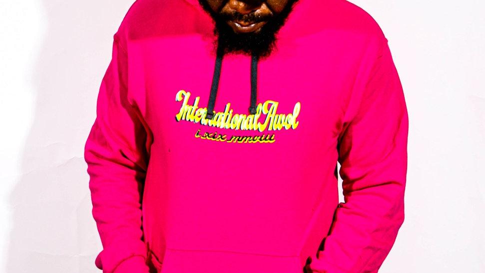 Pink Neon Internationalawol Hoodie