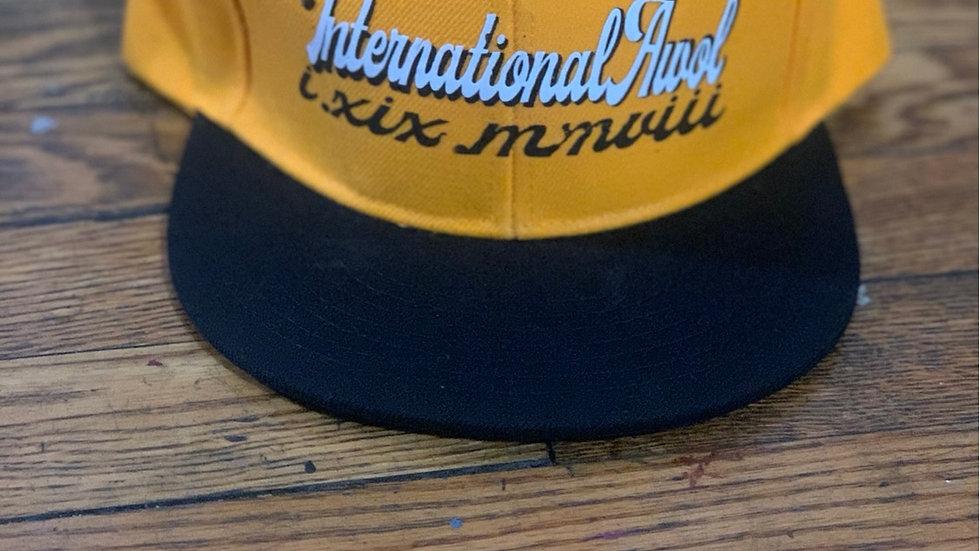 Yellow/Black International AWoL snapback
