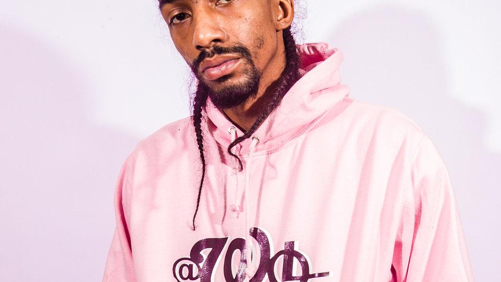 Pink AWoL Logo Hoodie