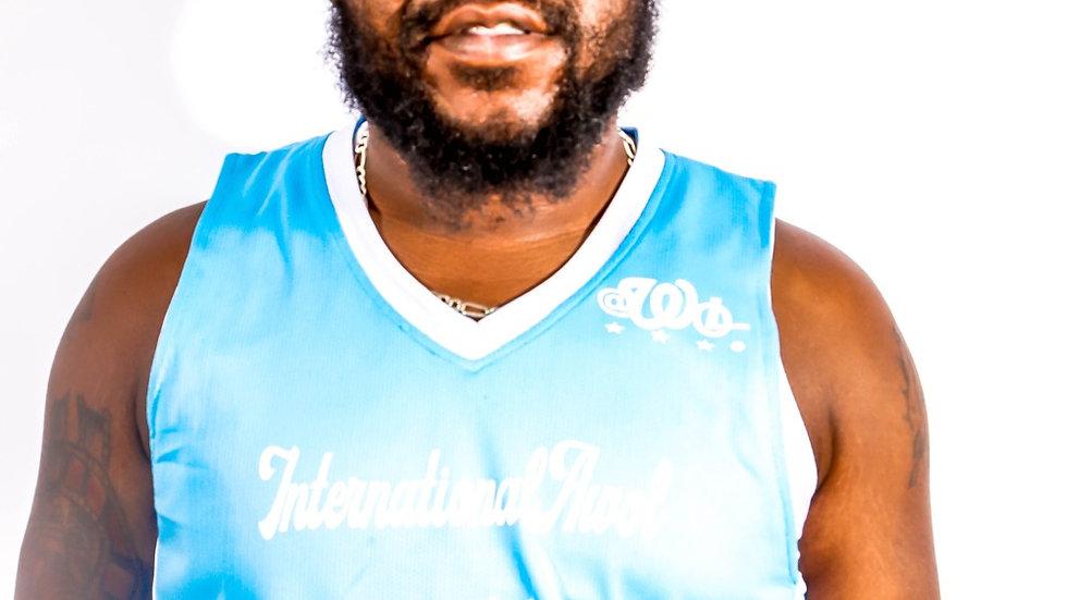Carolina blue international AWoL reversible basketball