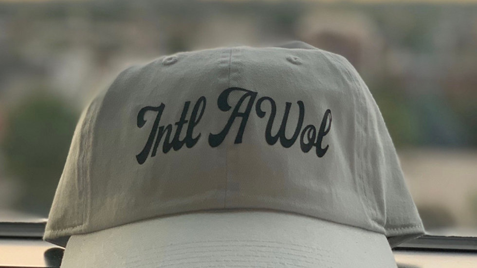 The White intl AWoL dad hat