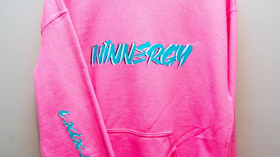 The Electric Pink WInnergy Hoodie