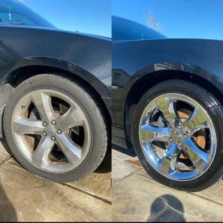 Chrome Cleanig and Polished