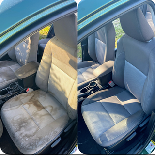Corolla Seat Cleaning