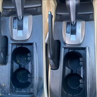 Center Console cleaned and disinfected