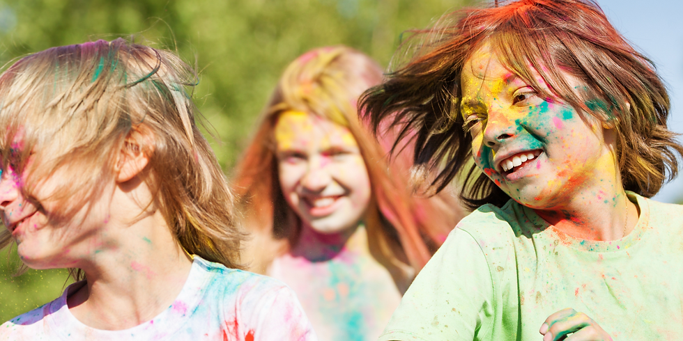 Kid's Color Run for Neighbor In Need
