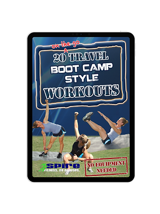 20 Travel Workouts - Boot Camp Style