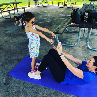 Mommy me workout