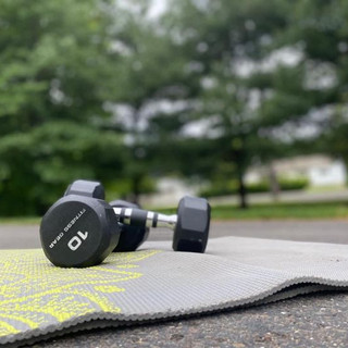 Mat and weights