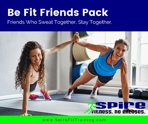 Be Fit Friends Pack