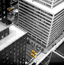 3 Yellow cabs