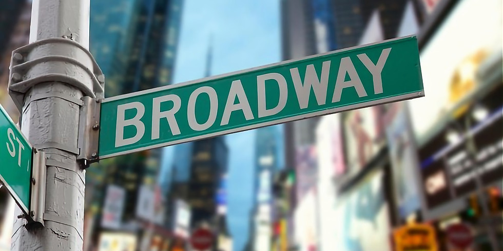 Broadway Revue 3:30pm Show