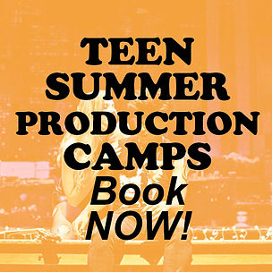 TEEN SUMMER PRODUCTION CAMPS square FLAT