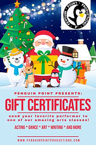 Gift Certificate Mall Placard 2019 REDUC