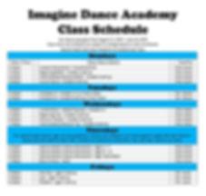 Imagine Dance Schedule Only 1-30-3030.jp
