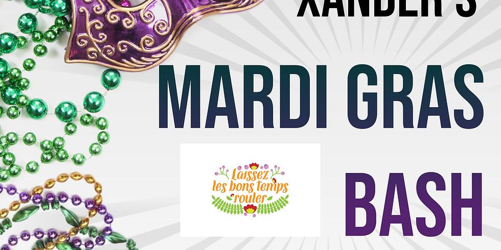Xander's Mardi Gras Bash (Live Music!)