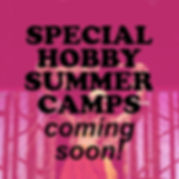 SPECIAL HOBBY SUMMER CAMP square layers.