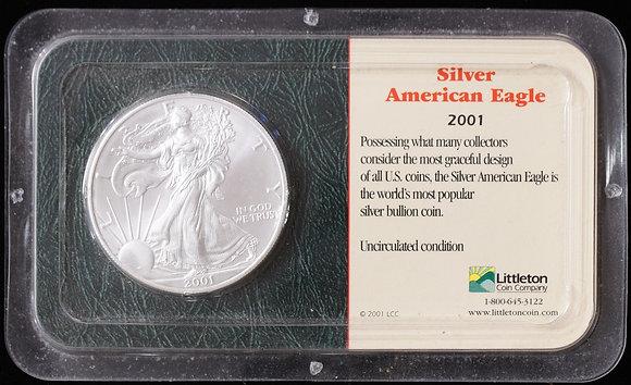 2001 Silver American Eagle