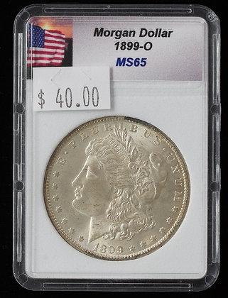 1899-O Morgan Dollar