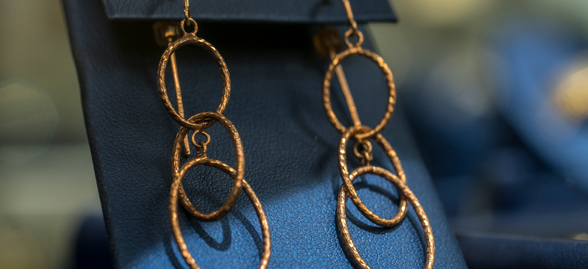 Havasu Coin Gold Hoop Earrings