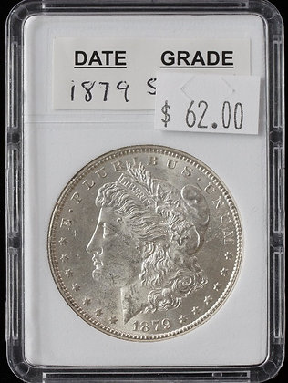 1879-S Morgan Dollars