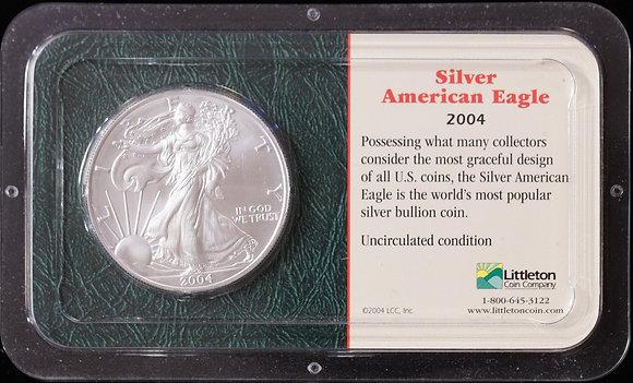 2004 Silver American Eagle