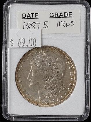 1887-S Morgan Dollar